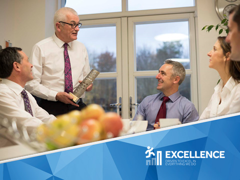 Excellence – Driven to Excel in everything we do