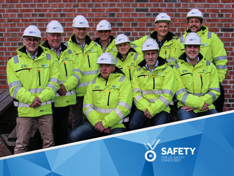 Safety – For us, safety comes first