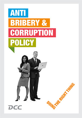 DCC Anti Bribery & Corruption Policy (PDF)